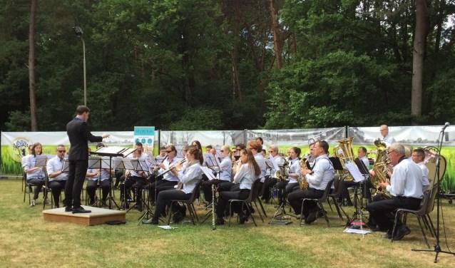 Muziekvereniging St. Cecilia geeft een mooi Pinksterconcert in de Zitterdse bossen, maandag 21 mei.