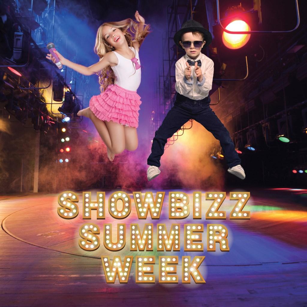 Kinderen voelen zich een ster in de Showbiz Summer Week