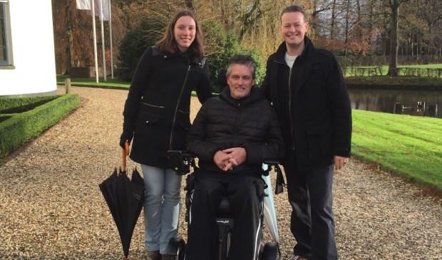 Miranda en Edward van 't Zelfde hebben deze actie opgepakt voor hun (schoon)vader, die vier jaar geleden de diagnose PSMA gekregen heeft. Eigen foto