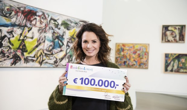 De BankGiro Loterij - met Leontine Borsato als ambassadrice, maakt iedere dag de winnaar van een prijs bekend. Foto: Jurgen Jacob Lodder