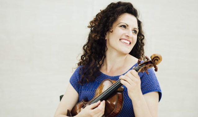 Bij het Parkgebouw is er veel ruimte voor klassieke muziek, onder andere van violiste Liza Ferschtman.