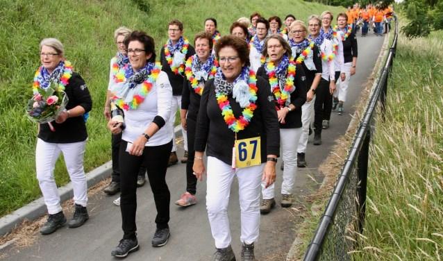 Opnieuwdeden meer volwassen groepen deden mee met de Avond4Daagse Lichtenvoorde.