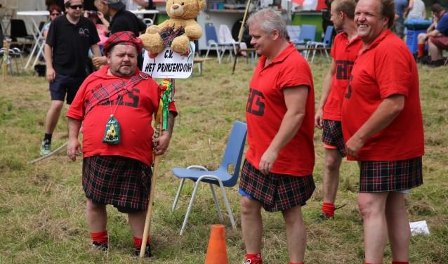 Plezier stond ook tijdens de vorige edities van de Highlandgames hoog in het vaandel. (foto: eigen foto)