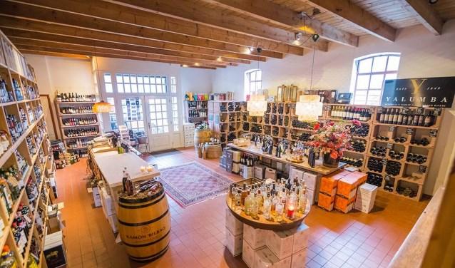 Al ruim twintig jaar is de slijterij annex wijnhandel aan de Eibergsestraat een begrip in Haaksbergen.
