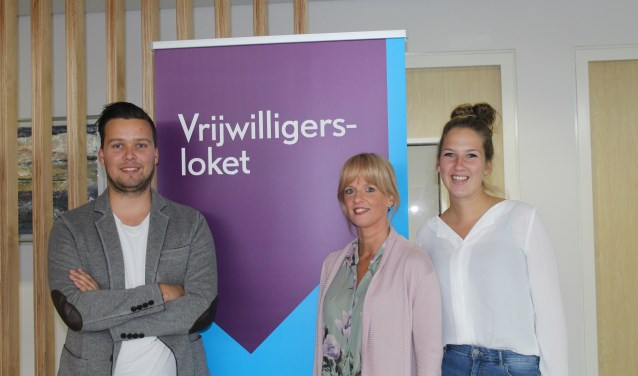 Christiaan van Dommelen, Ellen van Pelt en Lisanne Kuijpers van Krimpenwijzer.