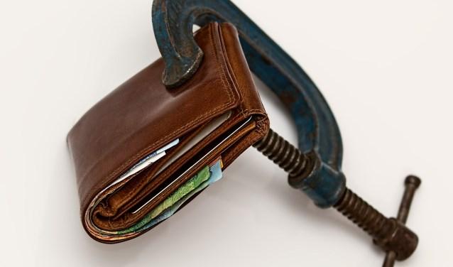 """""""De wijkcoachis echt een schat'', zegt Trudy, die bij de stadsbank loopt en van 50 euro in de week moet rondkomen."""