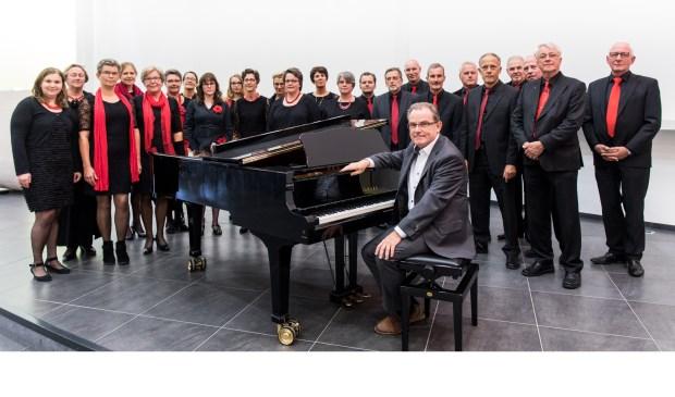 Kleinkoor Concertino onder leiding van Martin Zonnenberg. (Foto: Michaël Terlouw Fotografie)