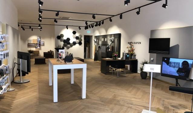 In de showroom van Bang & Olufsen ter Horst staat alles demonstratieklaar uitgestald. Foto: Bang & Olufsen ter Horst