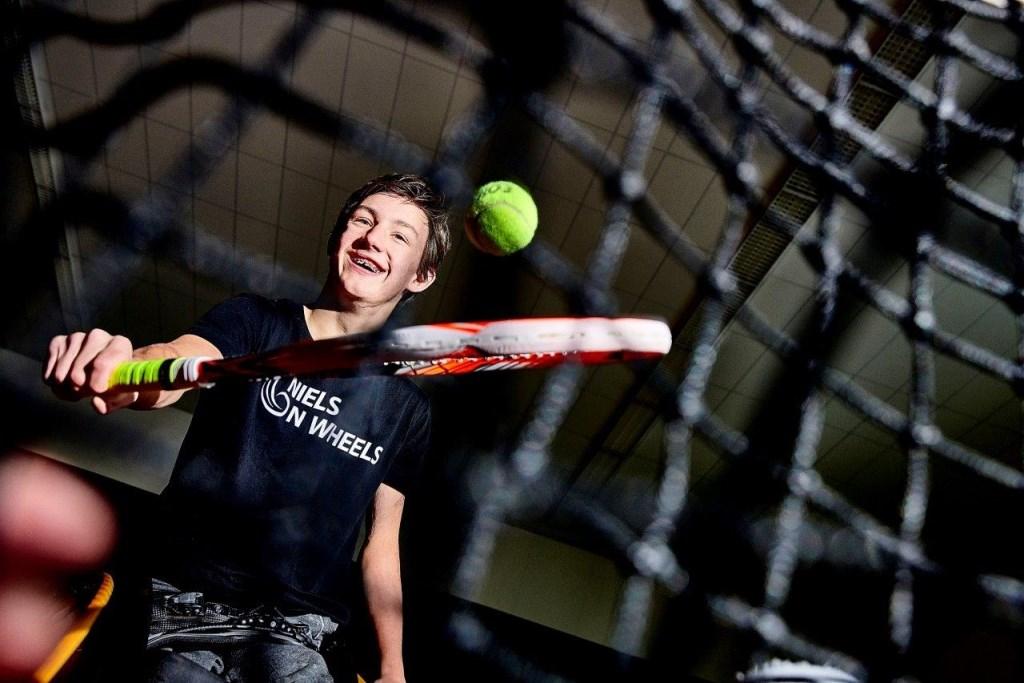Niels Vink zet alles op alles om in 2020 te kunnen meedoen aan de Paralympische Spelen in Tokio. (foto: Ruud Hoornstra)