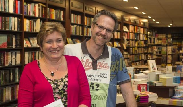 Belinda en Jan Willem Rebers kunnen na een aantal hectische maanden gelukkig weer lachen. (foto: Bas Bakema)