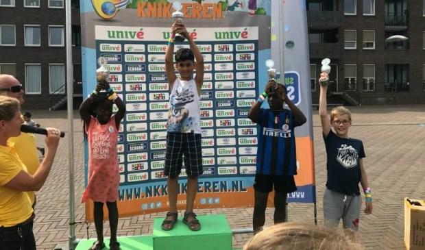 De 1e plaats was voor Ali, 2e plaats Kishainy, 3e plaat Jiovanni, 4e plaats voor Hugo.