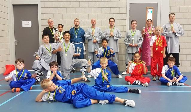 Shaolin Apeldoorn op het NK 2018