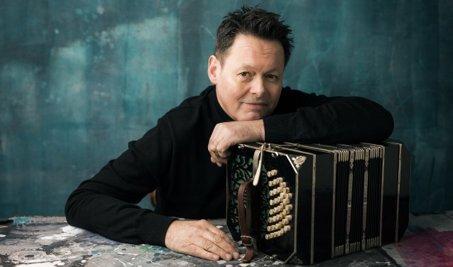 Carel Kraayenhof en zijn bandoneon