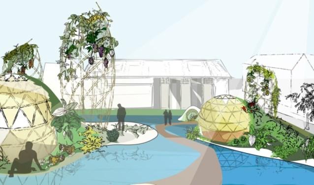 Het Smaakpark, in de voormalige Mauritskazerne in Ede, zal bestaan uit een permanent foodfestival en een belevingstuin.