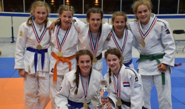 meisjes -15 Nederlands kampioen