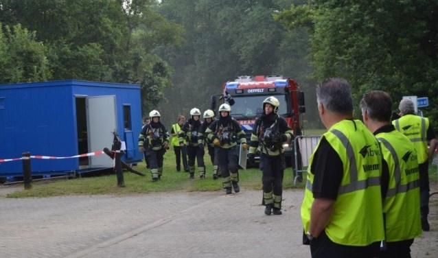 Het brandweerkorps van Oeffelt was een van de deelnemers in Heeswijk-Dinther. (foto: persfoto)
