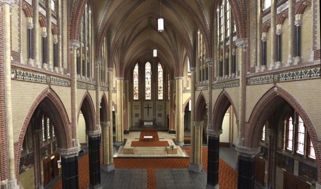 Het karakter van de Gouwekerk zal vanuit cultuurhistorisch oogpunt behouden blijven. Foto: Marianka Peters