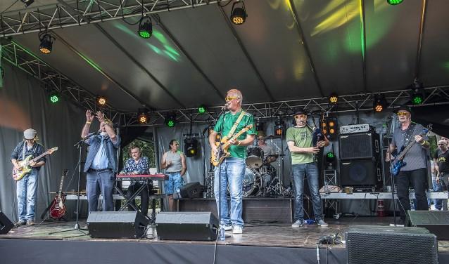 De Autistic Cowboys zijn zondagmiddag te gast bij het Parkpaviljoen in Waalwijk. Foto: Luuk Aarts