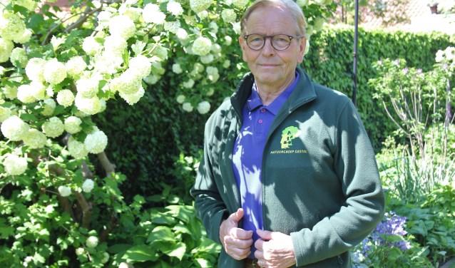 Michel van de Langenberg is een echte natuurliefhebber en samen met vele anderen actief bij Natuurgroep Gestel die het 25-jarige bestaan viert. Foto: Wendy van Lijssel