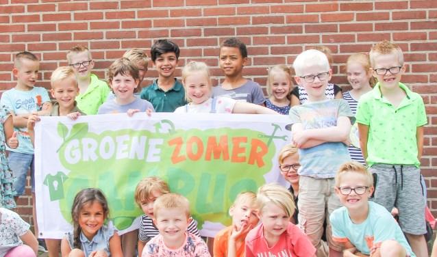 Deelnemers aan de Groene Zomer Campus.
