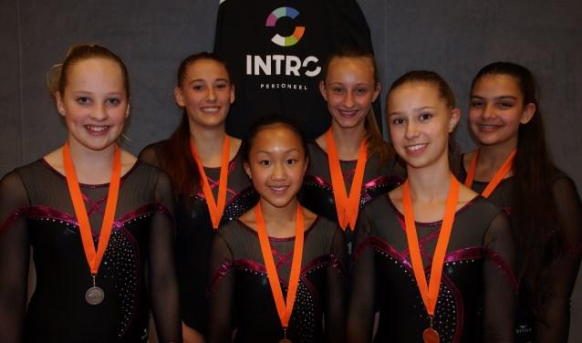 V.l.n.r. Nienke, Desi, Wan-Ting, Katelyn, Lois en Larysa. (Foto: pr)