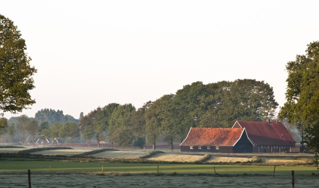 Hooiland in de ochtend in Nationaal Landschap Winterswijk.