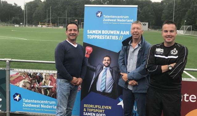 André de Klerk (directeur Aleco), Ad van de Vrede (opbouwwerker WijZijn), Ad van Tilburg (voorzitter BSC).