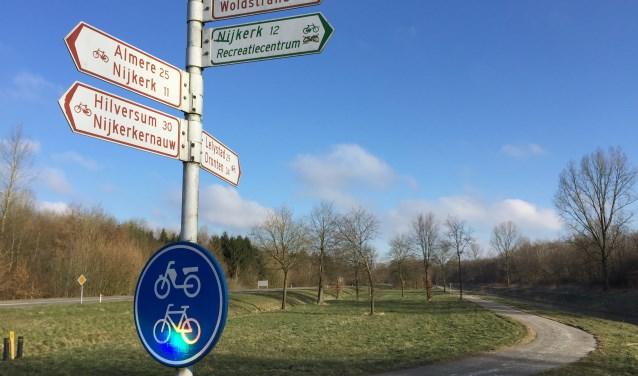 Het fietspad langs de N705 Spiekweg wordt van 2 juli tot en met 17 augustus 2018 afgesloten.