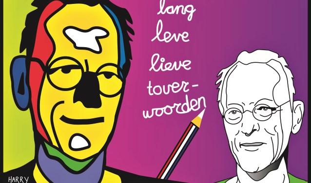 Harry Oonk was Stadsdichter van Ede van 2015 tot en met 2018. Harry illustreert zijn gedichten vaak met kleurrijke zelfgemaakte digitekeningen.