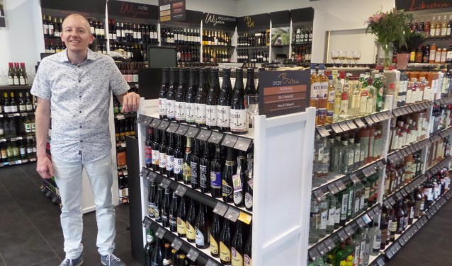 Raymond Zonneveld in de compleet vernieuwde Mitra-winkel in winkelcentrum Maaspoort.