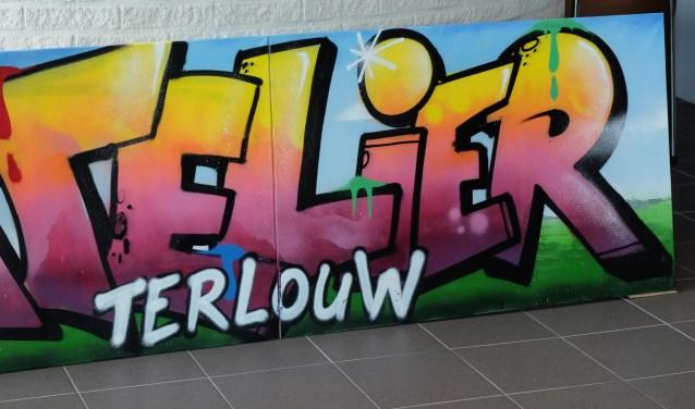 graffiti op doek