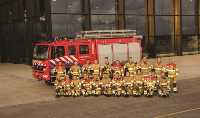 De leden van het Brandweerkorps Soesterberg. (Foto: B.S.).