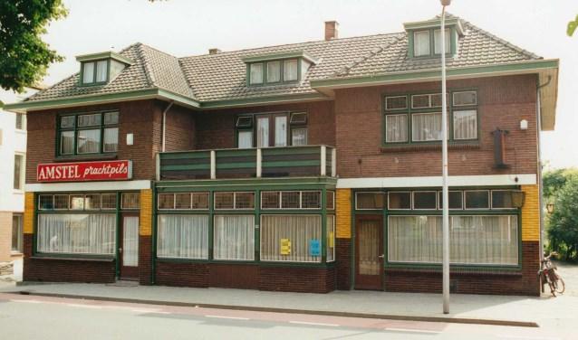 Veel mensen hebben herinneringen aan Café Maats.Foto: Oudheidskamer Hoolt'n.