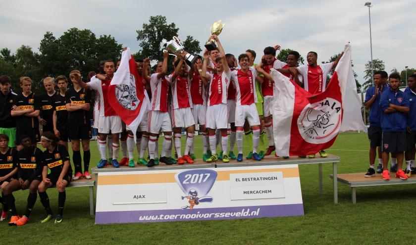 Ajax won de vorige editie van het Ten Brinke Bouw Tournament. (foto: Otto Willemsen)