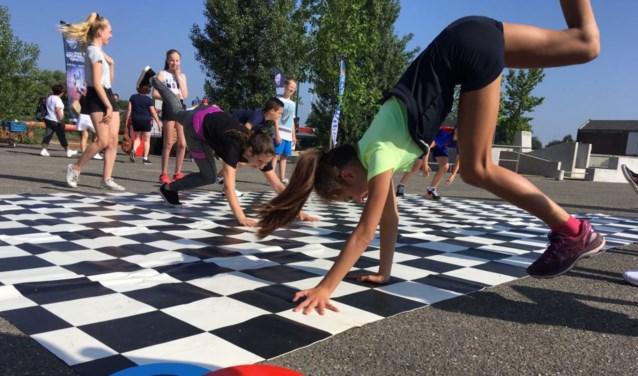 Piepende skateboardwielen, stoere breakdance-deuntjes en gejuich waren vier dagen lang bij Pier15 te horen. FOTO: PR