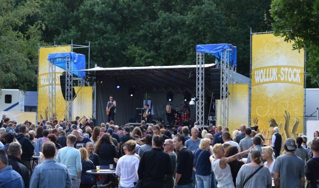 Het Lido-terrein in Waalwijk is op zaterdag 30 juni en zondag 1 juli het decor voor de negende editie van Wolluck-Stock. Foto: Waalwijk4you