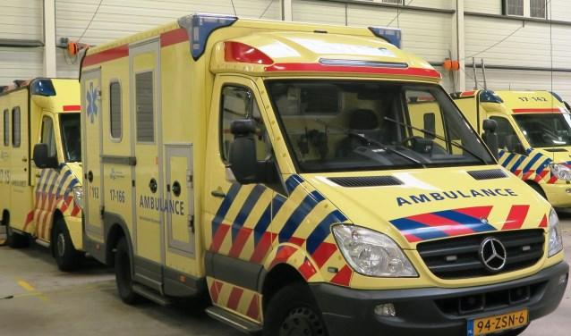 Vinden van voldoende bezetting op de ambulances is moeilijk. (foto GvS)