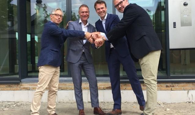 Dirk Bruinsma, Erik van Beurden, Michiel Wijnen (Zenzo) en Peter van der Heijden. Foto PR