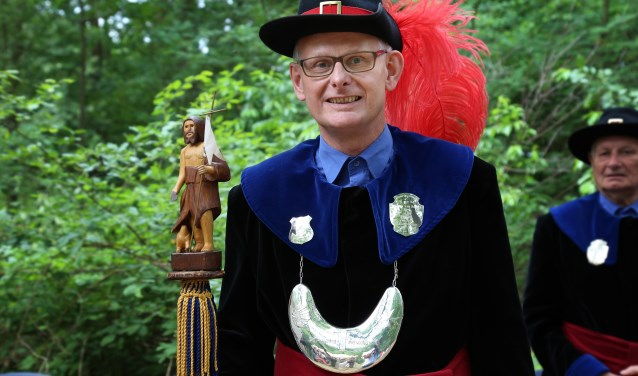 Martien van Berkel kwam in 1980 in Gassel wonen. (foto: Marco van den Broek)