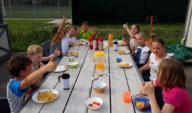 De kinderen hebben het goed naar hun zin gehad. (Foto: Teun de With)