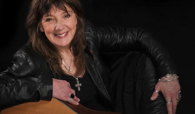 Eén van de headliners is Linda Simpson-Taylor, bekend van Magna Carta. Eigen foto