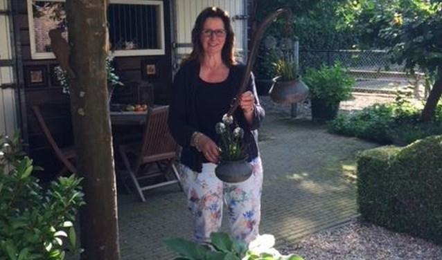 Meryan Kersten doet zelf ook weer mee aan de gardensale. FOTO: eigen foto