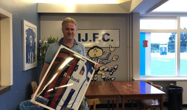Hoofdtrainer Marcel van den IJssel was voor de laatste keer in deze functie aanwezig.