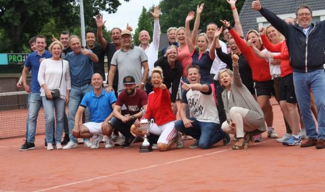 TC De Mors heeft in 2017 de Noaberscuptrofee in de wacht gesleept. Foto: M. Dittrich.