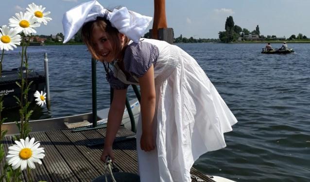 Leerlingen zullen als figuranten optreden, helemaal verkleed zoals in de tijd van toen.(Foto: Privé)