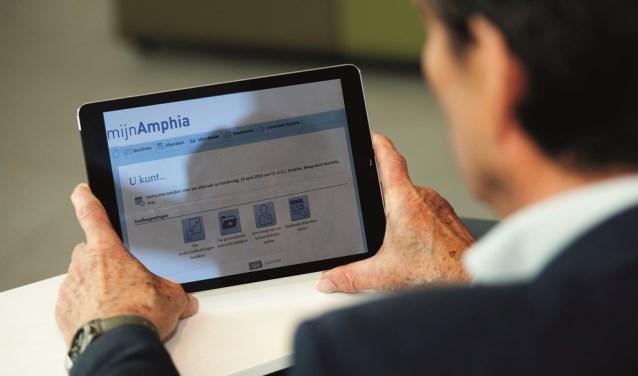Met mijnAmphia krijgen patiënten nu ook online inzage in hun medisch dossier.  FOTO: ESTHER HEREIJGERS