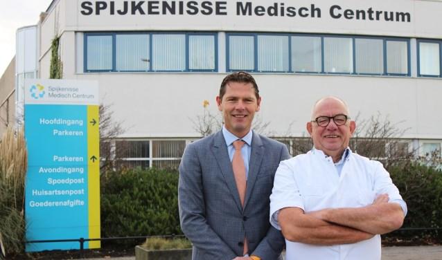 V.l.n.r.: bestuurders Peter Langebach en Paul van der Velden.