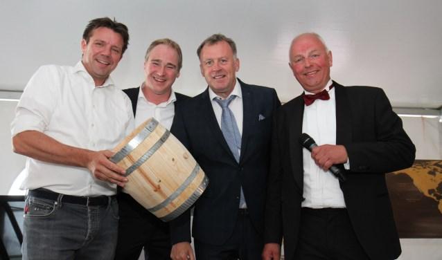 Van links naar rechts: Roy den Leeuw, Chiel Bolscher, Paul Roetgering en Gerard Libbers. Foto: Jolien Altena.