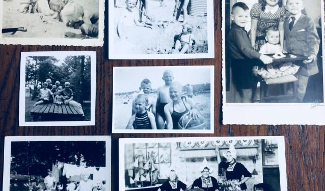 Een aantal vakantiefoto's van vroeger. Archief: familie Terlingen