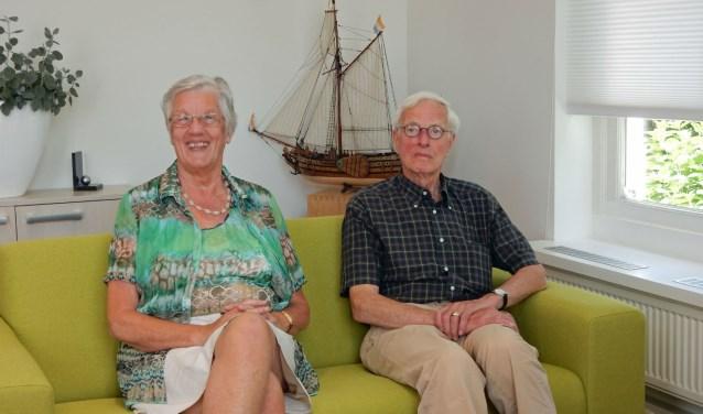 """Wil Vroon en Sander van Rhijn praten graag over de mooie tijd bij notariskantoor Van Rhijn. """"Hard werken in een goede sfeer met de collega's."""""""